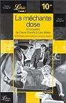 La méchante dose: Neuf nouvelles de David Goodis à Léo Malet. Une anthologie par Sadoul