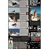 Space Shuttle Fleet Educational Chart Poster