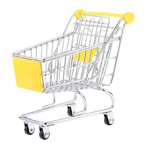 Mini-panier Taille Chariot Jouet M Jaune