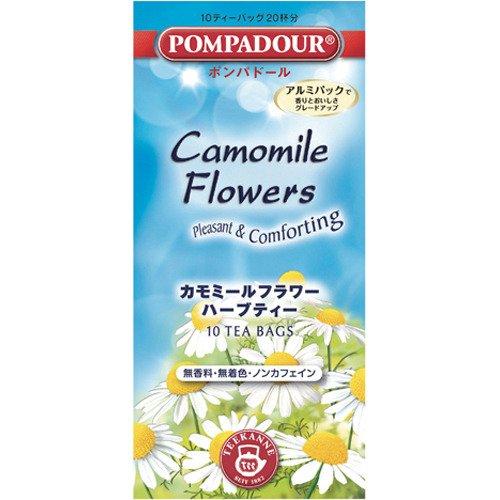 ポンパドール カモミールフラワー ハーブティー 1.5g×10袋