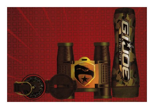 Gi Joe 26362 Box Kit (3-Piece)