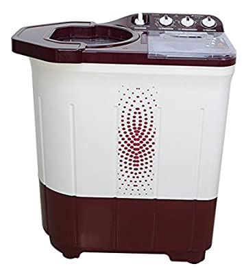 Sansui WMSS60AS-CMA Top-loading Washing Machine (6kg, Maroon)