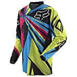 Fox Racing HC Undertow Youth Boys MX/Off-Road/Dirt Bike Motorcycle Jersey - Green/Blue / Large