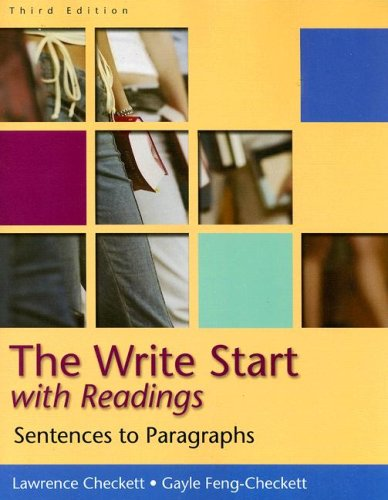The Write Start: Student Text: Sentences to Paragraphs