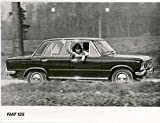 1967 Fiat 125 4 Door Saloon Automobile Photo Poster