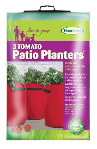 Tierra Garden 50-1050 Haxnicks Tomato Patio Planter, 3-Pack (Tomato Patio compare prices)