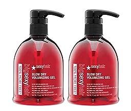 Big Sexy Hair Blow Dry Volumizing Gel 16.9 oz/500 ml (2 Pack)