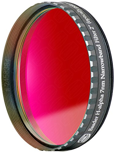 Baader planetarium filtre cCD schmalbandfilter 2458384 avec iR-cut (2, h-alpha 7 nm)