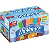 Fla-Vor-Ice 1.5oz Assorted Freezer Bars 100 Count