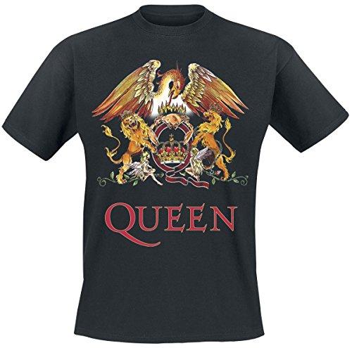 queen-crest-vintage-t-shirt-noir-m