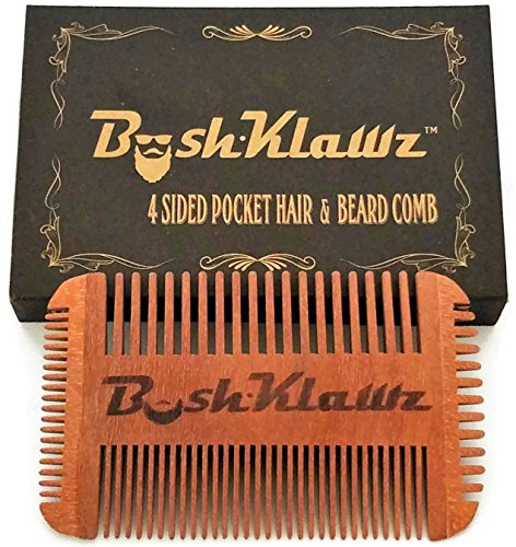 Best Pocket Comb for beard and moustache with fine tooth