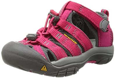 KEEN Newport H2 Sandal (Toddler/Little Kid/Big Kid),Rose Red/Gargoyle,8 M US Toddler
