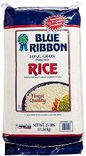 Blue Ribbon Long Grain Rice 25 Pound