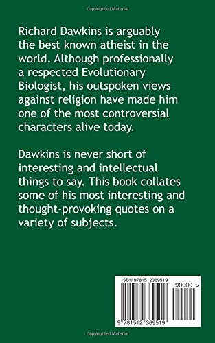 The Very Best of Richard Dawkins: Quotes from a Devout Atheist