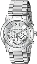 Michael Kors Women's Cooper Silver-Tone Watch MK6273
