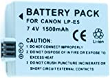 Neewer Lp-E5 Replacement Battery For Canon Eos Xs Xsi T1I 450D 500D 1000D & More!