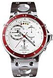 ROSENDAHL (ローゼンダール) 腕時計 LE MANS クロノグラフ 白/赤 RSD43320