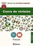 Cours de r�vision Fran�ais 5e : Le�on...