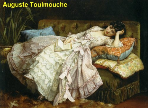 23 Amazing Color Paintings of Auguste Toulmouche - French Genre and Portrait Painter (September 21, 1829 - October 16, 1890)