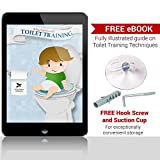 Cozy-Greens-Potty-Seat-Kids-Toilet-Training-Ring-for-Boys-or-Girls-Secure-Non-Slip-Surface-FREE-GIFTS-Suction-Cup-Storage-Hook-Potty-Training-eBook-Lifetime-100-Satisfaction-Guarantee