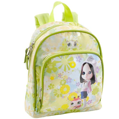 Littlest PET Shop~blythe~mini Back Pack~ New~pet Vacation Collection~10 Inches (Green) - 1