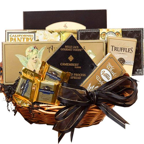 Art of Appreciation Gift Baskets Classic Gourmet Food and Snacks Set, Small Summer (Chocolate And Tea Gift Basket compare prices)