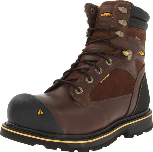 KEEN Utility Men's Sheridan Insulated Comp Toe Work Boot,Cascade Brown,10 D US (Keen Insulated Boots For Men compare prices)