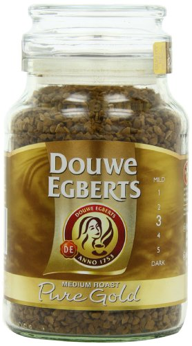 Douwe Egberts Pure Gold Instant Coffee, Medium Roast, 7.05-Ounce