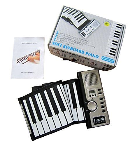 Fzone Soft Roll Up Piano - 61 keys
