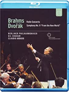 Brahms: Concerto Pour Violon - Dvorák: Symphonie N° 9 [Blu-ray]