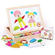 Little star Educational Wooden Magnetic Puzzle Toys for Children Kids Toys