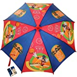 Mickey Mouse Umbrella Basketball Theme Red and Blue 30 Radius