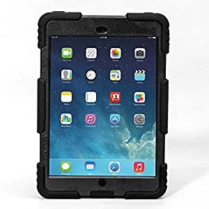 Ipad mini case,ACEGUARDERipad mini 2 case,ipad mini 3 caseSlim Military-Duty Case for Rainproof Shock proof Anti-Dirt Drop Resistance Case with Back Clip for Apple Ipad mini 2/3 by Aceguarder