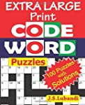EXTRA LARGE Print CODEWORD Puzzles