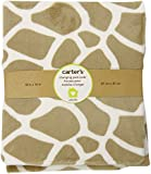 Carter's Wildlife Velour Changing Pad Cover, Beige (Discontinued by Manufacturer) (Discontinued by Manufacturer)