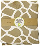 Carter's Wildlife Velour Changing Pad Cover, Beige