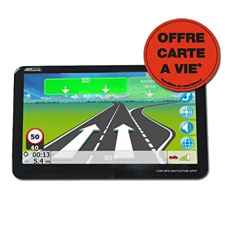 Navigation GPS TAKARA GP67LM EUROPE CARTE A VIE