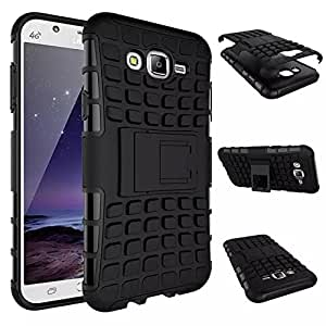 Rugged Hard back cover kickstand case for Samsung Galaxy J1 Ace