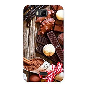 Premium Chocolate Candies Multicolor Back Case Cover for Honor Bee