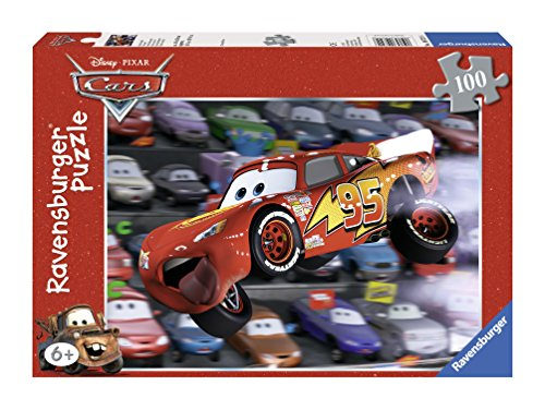Ravensburger Disney Cars: Cars Everywhere (100-Piece) Puzzle