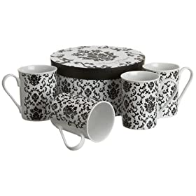 Rosanna Parisian Wallpaper Mug Set