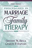 Procedures in marriage and family therapy /