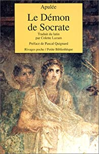 Le Démon de Socrate par  Apulée
