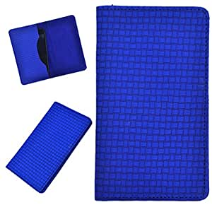 DCR Pu Leather case cover for Lenovo A706 (blue)