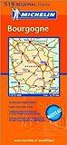 echange, troc Cartes REGIONAL Michelin - Carte routière : Bourgogne