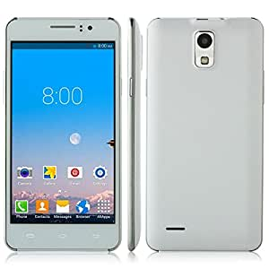 N760 5.0Inch MTK6572W Cortex A7 Dual Core Android 4.4 Unlocked Phone Dual SIM Card 512MB + 4GB Mobile Phone - White
