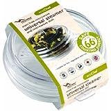 Eco-Chef Universal Steamer/ Microwave Dish