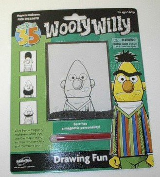 Sesame Street Wooly Willy - Bert Drawing Fun - Buy Sesame Street Wooly Willy - Bert Drawing Fun - Purchase Sesame Street Wooly Willy - Bert Drawing Fun (Sababa Toys, Toys & Games,Categories,Activities & Amusements,Drawing Tablet Toys)