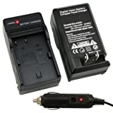 eForCity® BP-508 / BP-511 / BP-512 / BP-522 / BP-535 Compatible Battery Charger Set for Canon Power