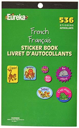 Eureka French Sticker Book